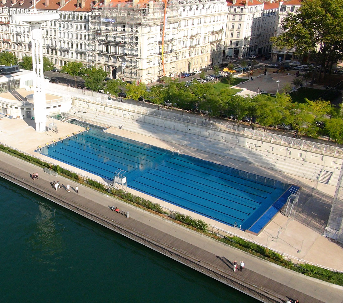 Lyon rh ne france zeller pool construction for Piscine rhone lyon