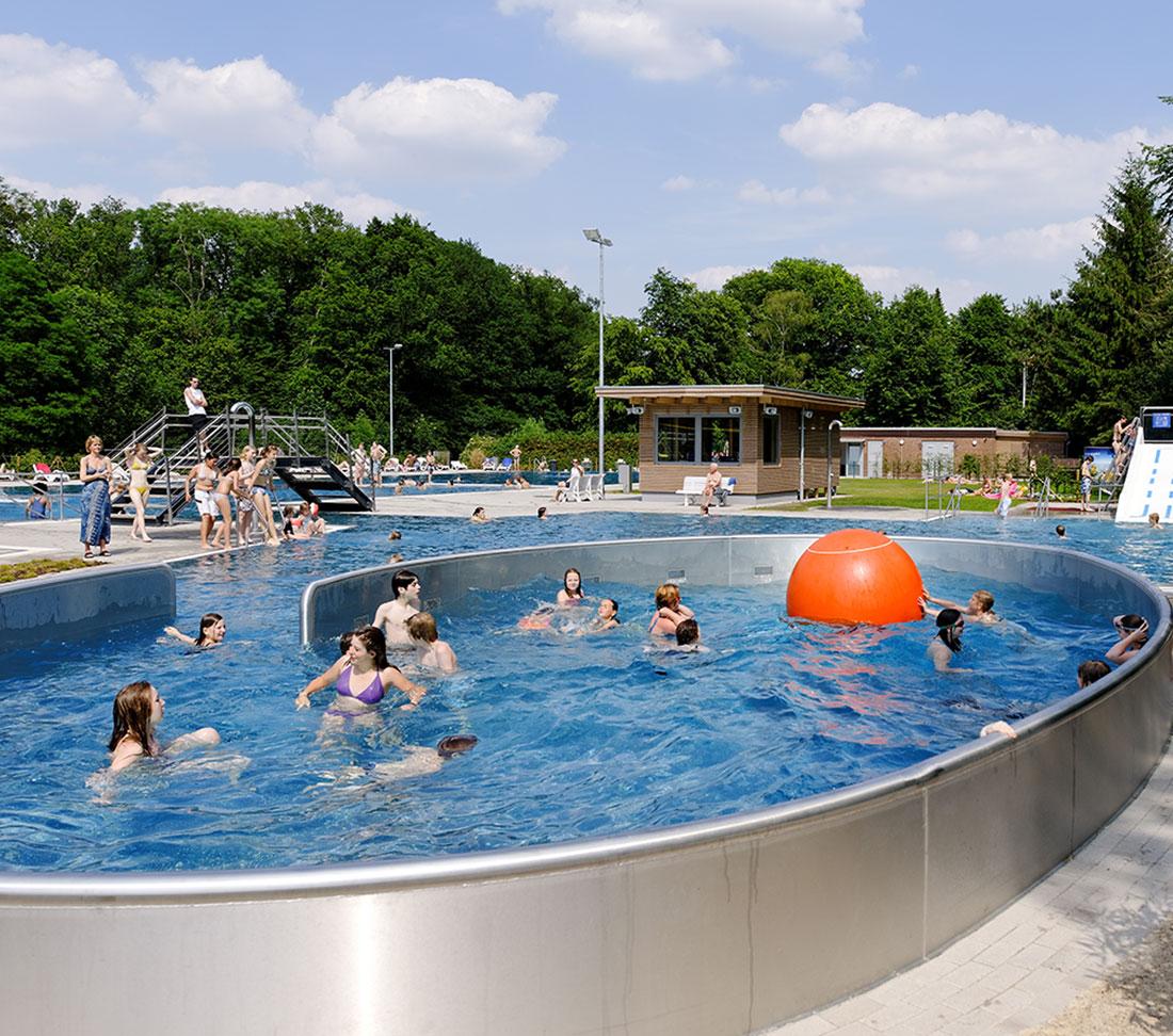 Schwimmbad Wolbeck freibad muenster stapelskotten germany zeller pool construction