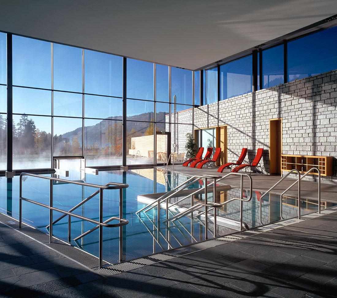 Radonbad, Menzenschwand - Zeller Bäderbau